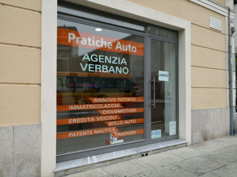 agenzia di pratiche auto verbano